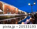 小樽運河 小樽 雪あかりの路の写真 20533193