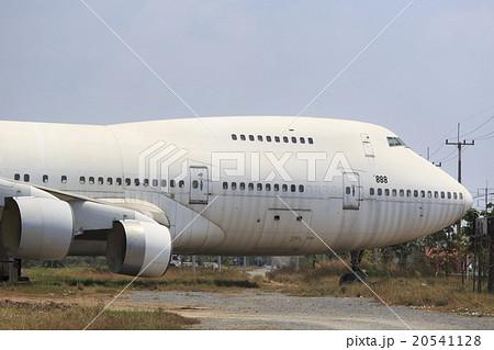 廃棄された飛行機 20541128