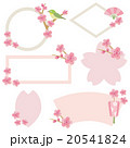 桜 フレーム 花のイラスト 20541824