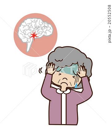 脳梗塞の女性 20552508