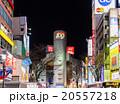 渋谷駅前 都市風景 道玄坂 20557218