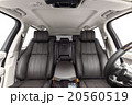 Car interior luxury brown seats and light cabin 20560519