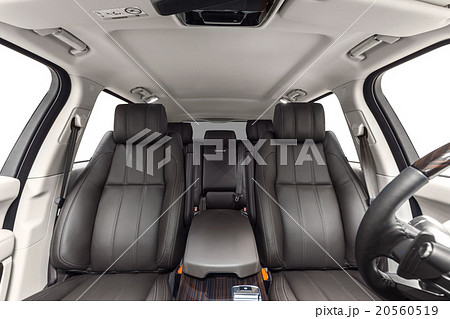 car interior luxury brown seats and light cabin 20560519 pixta. Black Bedroom Furniture Sets. Home Design Ideas