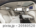 Car interior luxury white seats with tables 20560520
