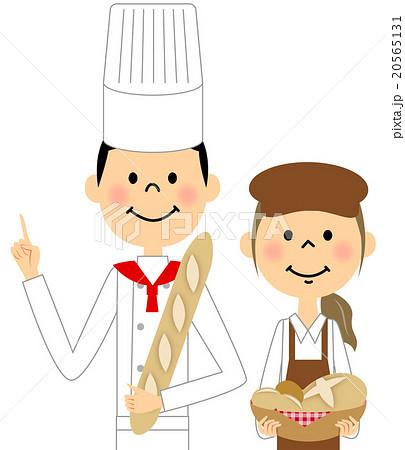 パン屋さんのイラスト素材 20565131 Pixta