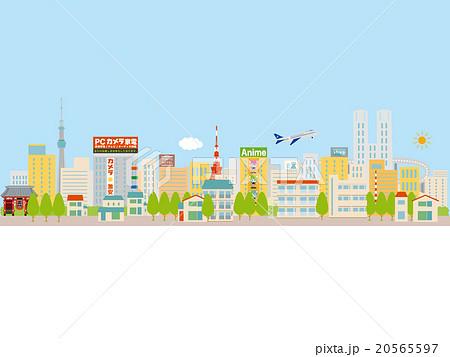 東京の街並イメージ、青空 20565597