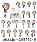 女性 人物 病気のイラスト 20575249