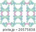 アジア 模様 花柄 ハーブ 多肉植物 オーナメントプランツ デコニク サボテン 植物 水彩画 柄 20575838