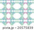 アジア 模様 花柄 ハーブ 多肉植物 オーナメントプランツ デコニク サボテン 植物 水彩画 柄 20575839