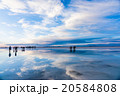 ウユニ塩湖 雲 風景の写真 20584808