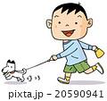 犬の散歩 20590941
