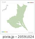 茨城県の地図 20591024