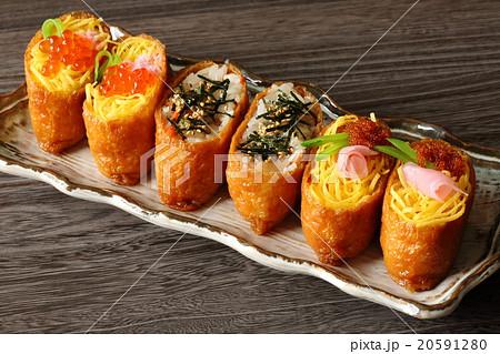 稲荷寿司の写真素材 [20591280] ...