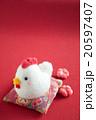 素材 ニワトリ 酉の写真 20597407