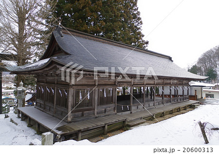 信州 諏訪 諏訪大社 上社前宮 十間廊(じっけんろう) 20600313