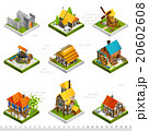 Medieval Buildings Isometric Collection 20602608
