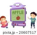 Stickman Kids Technology Robot Teacher 20607517