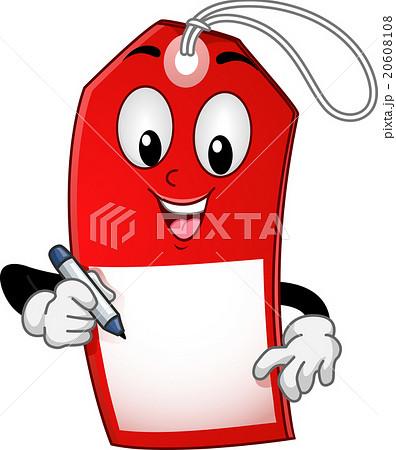 Mascot Sale Tag Discount 20608108