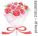 母の日 カーネーションの花束 20618688