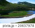 鳥海山 湖 鳥海湖の写真 20637978