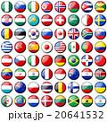 国旗アイコン64カ国 20641532