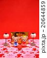 くまちゃんのひな人形縦 20644859