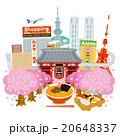 日本観光街並イメージ 20648337