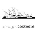 イラスト「シドニーのオペラハウス」  20650616