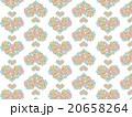 ハート形 アジア 模様 花柄 ハーブ 多肉植物 オーナメントプランツ デコニク サボテン 植物 水彩 20658264