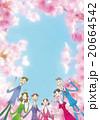 桜の季節の歓迎会 20664542