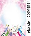 お花見 20664544