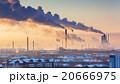 都市 工業 煙の写真 20666975