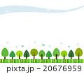 森のフレーム 20676959