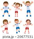 体操服 ベクター 小学生のイラスト 20677531