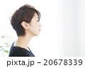女性 ショートヘア ショートカットの写真 20678339