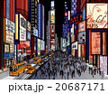 New York - night view of times square 20687171