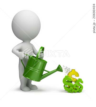 3d small people - pours dollars 20690404