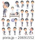 男性 ビジネス 病気のイラスト 20691552