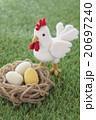 ニワトリと卵(金の卵?入り) 20697240