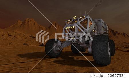 惑星探査車のイラスト素材 [2069...