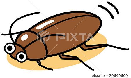 ゴキブリのイラスト素材 20699600 Pixta
