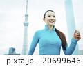 ジョギングをする女性 20699646