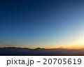 富士山 富士 霧の写真 20705619