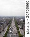 パリ 道路 風景の写真 20706660