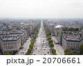 パリ 道路 風景の写真 20706661