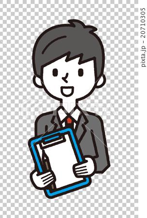 ビジネスマン【シンプルキャラ・シリーズ】 20710305