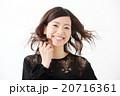女性 ヘアスタイル 人物の写真 20716361