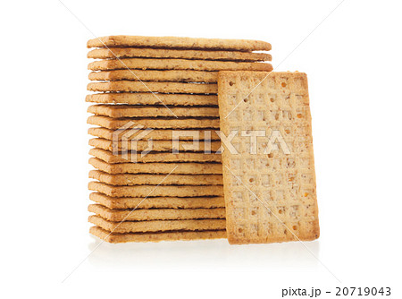 Simple crackers isolatedの写真素材 [20719043] - PIXTA