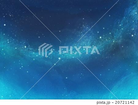 幻想的で美しい星空 20721142