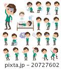 男性 人物 中学生のイラスト 20727602